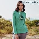 United by Blue 女起球長袖連帽上衣 201-097 Take A Stand Hooded Pullover / 城市綠洲 (有機棉、長版帽T)