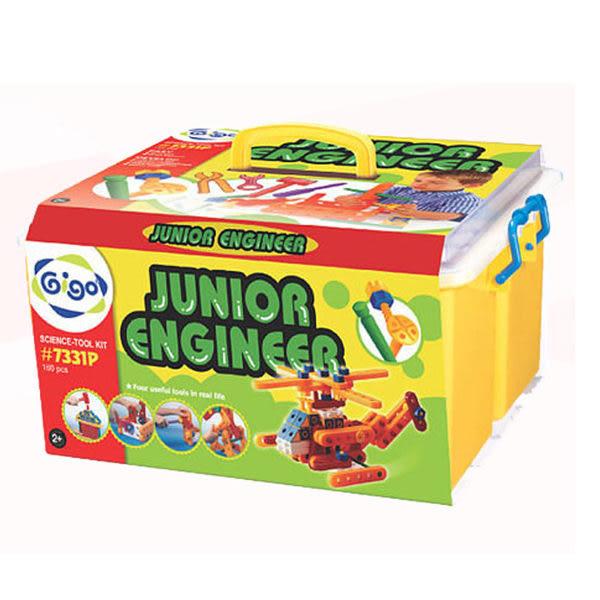 小工程師組(彩盒)#7331P 智高積木 GIGO 科學玩具 (OS小舖)