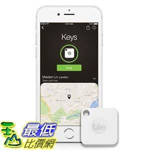 [106美國直購] Tile Mate 定位器 Key Finder. Phone Finder. Anything Finder - 1-pack