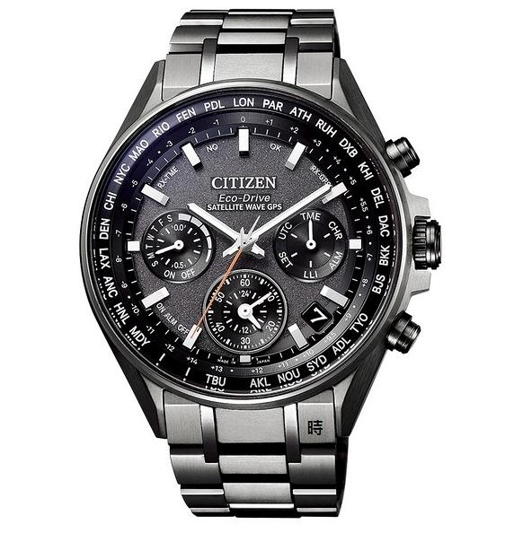 CITIZEN 星辰 光動能GPS電波 鈦金屬 手錶(CC4004-58E) 禮物/44mm