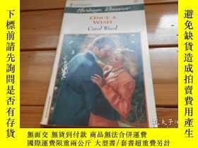 二手書博民逛書店ONCE罕見A WISH, CAROL WOODY19865 C