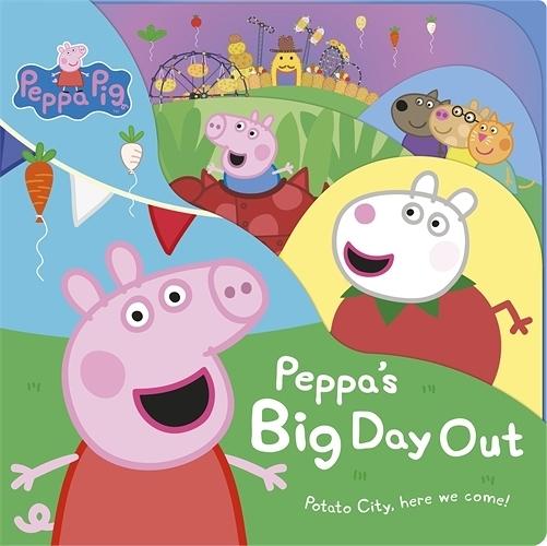 Peppa Pig:Peppa's Big Day Out 佩佩豬的遊玩日故事書