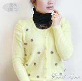 韓版女裝新款圍脖堆堆領假高領蕾絲假領網紗假領子假衣領 范思蓮恩