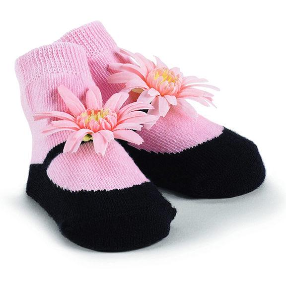 瑪麗珍短襪組: 粉紅雛菊: 171958