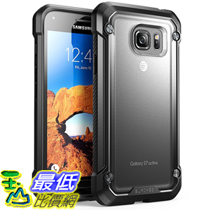[美國直購] Supcase Samsung Galaxy S7 Active Case 霧面黑框 [Unicorn Beetle Series] 手機殼 保護殼