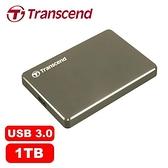 Transcend創見 StoreJet 25C3 1TB 2.5吋 超薄鋁合金 外接式硬碟