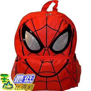 [美國直購] Marvel B017ID1UQO Spiderman 14吋 Big Face School Bag Backpack 背包