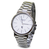 【Arseprince】分秒必針冷光銀帶中性錶