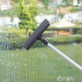 擦玻璃器家用伸縮桿雙面擦窗器刮玻璃的清潔工具地面刮水器搽高樓 港仔會社YYS