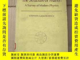 二手書博民逛書店the罕見structure of matter:a survey of modern physics(P820)