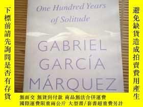 二手書博民逛書店one罕見hundred years of solitudeY1