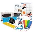 3Doodler Create PLUS 3D列印筆(旗艦升級工具組合)+3Doodler Create PLUS 3D列印筆+贈送5包顏料(隨機出貨)