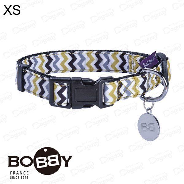 法國《BOBBY》曲徑項圈 [S] 寵物項圈 約克夏/貴賓/馬爾濟斯 小狗項圈