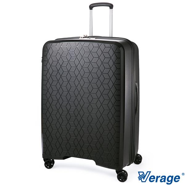 Verage 維麗杰 29吋(驚爆價6折) 鑽石風潮系列 可加大 旅行箱/行李箱- (黑)