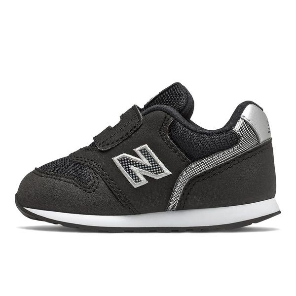 New Balance 996 W 童鞋 小童 休閒 麂皮 耐磨 魔鬼氈 黑【運動世界】IZ996HBK