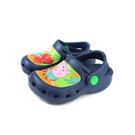 粉紅豬小妹 Peppa Pig 花園鞋 涼鞋 童鞋 深藍色 中童 PG0094 no850