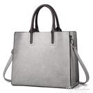 手提包女士秋冬簡約大氣手提包職業商務包大容量托特包包女 黛尼時尚精品