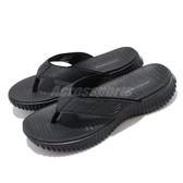 Skechers 拖鞋 Elite Flex-Bluwik 黑 全黑 男鞋 夾腳拖 涼拖鞋 人字拖【PUMP306】 51718BBK