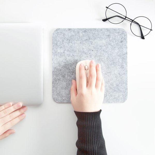 [超豐國際]毛氈鼠標墊小號加厚辦公電腦桌墊家用桌面書桌游戲鼠標墊子