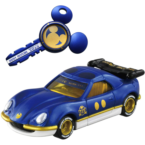 迪士尼小汽車 米奇跑車附鑰匙_ DS16135