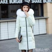 棉衣 棉衣女中長款秋冬新款韓版時尚修身顯瘦保暖加厚可愛棉服外套