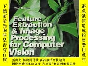 二手書博民逛書店Feature罕見Extraction & Image Processing for Computer(外文原版)