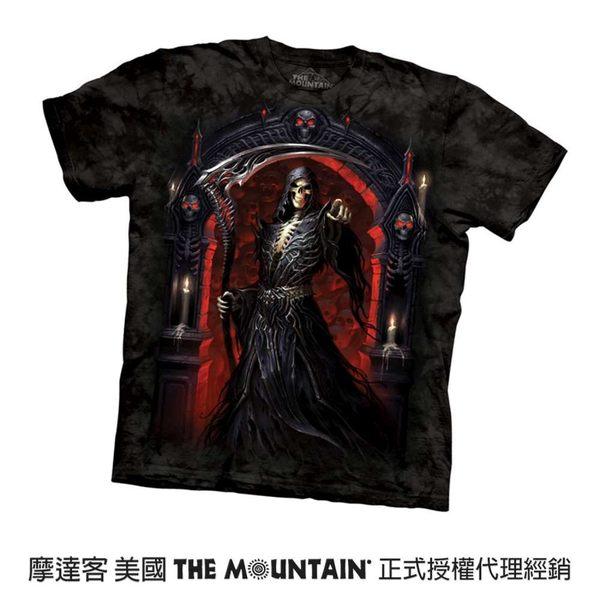 【摩達客】(預購) 美國進口The Mountain 死神 純棉環保短袖T恤(10416045109a)