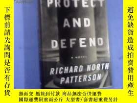 二手書博民逛書店Protect罕見and Defend(英文原版精裝毛邊書)Y1