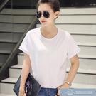 2021春夏新款時尚百搭韓版女裝大碼顯瘦純色 微愛家居生活館