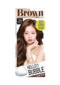 HELLO BUBBLE泡沫染髮劑6N(巧克力棕)