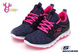 SKECHER DIAMOND RUNNER 記憶鞋墊 女童 大童 訓練鞋 慢跑鞋  Q8252 #藍 ◆OSOME奧森童鞋