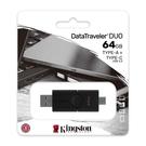 新風尚潮流 【DTDE/64GB】 金士頓 64G 隨身碟 雙介面 滑蓋式 隨身碟 支援 USB 3.2 G1 A type-C USB3.2G1 USB-A