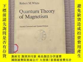 二手書博民逛書店quantum罕見theory of magnetism(P313)Y173412