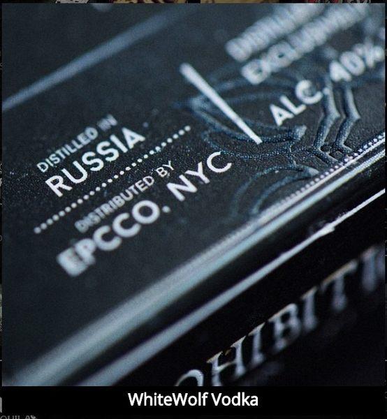 【USPCC 撲克】撲克牌 White Wolf Vodka