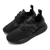 adidas 休閒鞋 NMD_R1 黑 全黑 男鞋 Boost 中底設計 運動鞋 【ACS】 FV9015