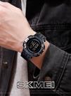 電子手錶男士潮流特種兵青少年學生防水多功能計時運動電子錶