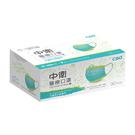中衛醫療兒童口罩月河藍+炫綠 30片/盒...