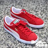 Puma Suede Classic 經典 紅白 麂皮 寬鞋帶 復古 情侶鞋 男女  (布魯克林) 2017/10月 35263405