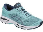 ASICS 亞瑟士 女慢跑鞋 GEL-KAYANO 24  (湖綠) 緩衝支撐款  T799N-1456 【胖媛的店】