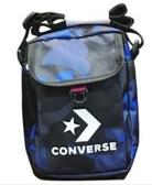 Converse 運動斜背包 帆布包 男女可用 藍色迷彩 NO.10008300-A01