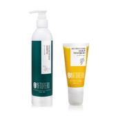 植淨林 加強代謝清潔組(強健洗髮露300ml+頭皮淨化平衡露75ml)