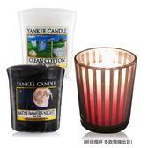 YANKEE CANDLE 香氛蠟燭-仲夏之夜+舒服棉(49g)X2+祈禱燭杯