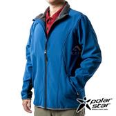 PolarStar 男 Soft Shell保暖外套『藍』P19211 戶外 休閒 登山 露營 保暖 禦寒 防風