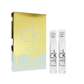◆2入組◆CK one GOLD 中性淡香水 1.2ml 試管香