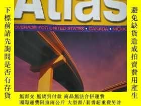 二手書博民逛書店2005罕見NORTH AMERICAN ROAD ATLASY