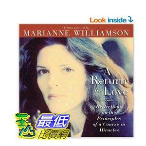 [104美國直購] A Return to Love CD Audio CD – Abridged, Audiobook
