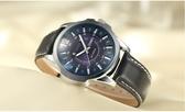 《澤米》新正品韓風真皮高規大錶盤石英錶 首爾潮流熱銷30米生活防水FFJ930