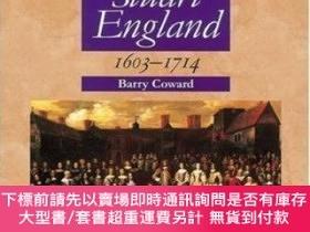 二手書博民逛書店Stuart罕見England 1603-1714 (longman Advanced History)Y25