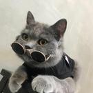 小貓咪寵物拍照道具眼鏡配飾