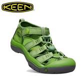 KEEN NEWPORT H2 運動涼鞋 | 護趾避震越野涼鞋 兒童款 草綠 #8272